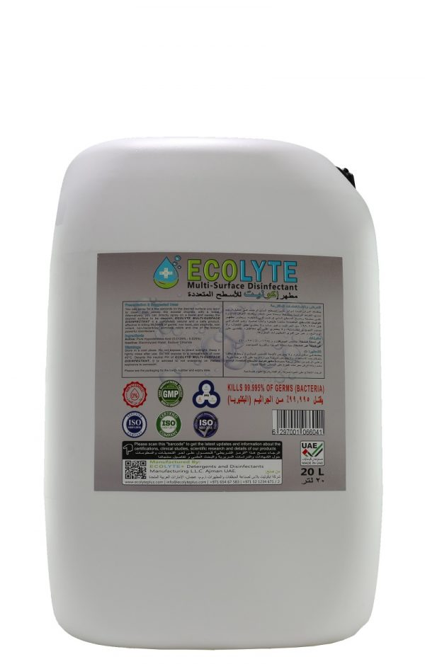 ECOLYTE Multi-Surface Disinfectant (4)