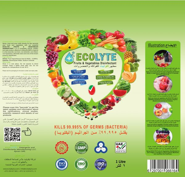 Ecolyte Fruits & Vegetable Disinfectant (2)