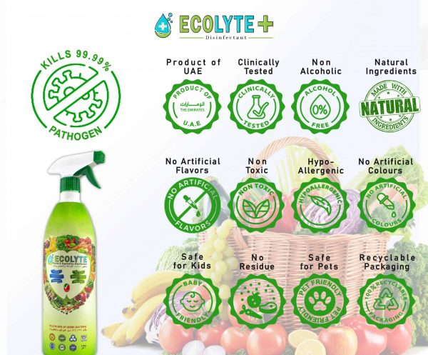 Ecolyte Fruits & Vegetable Disinfectant (3)