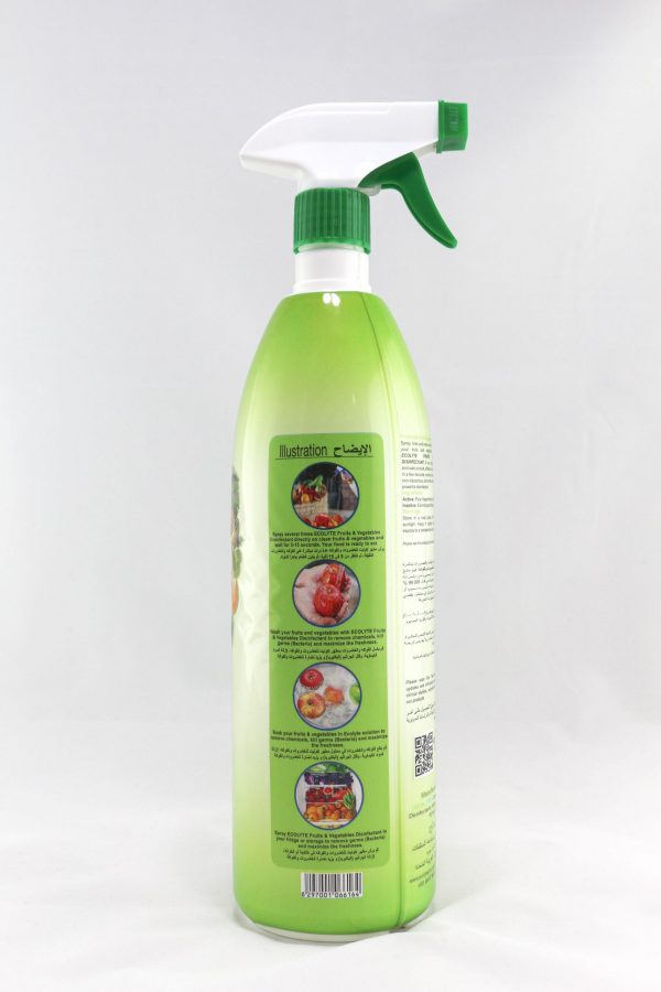 Ecolyte Fruits & Vegetable Disinfectant (5)