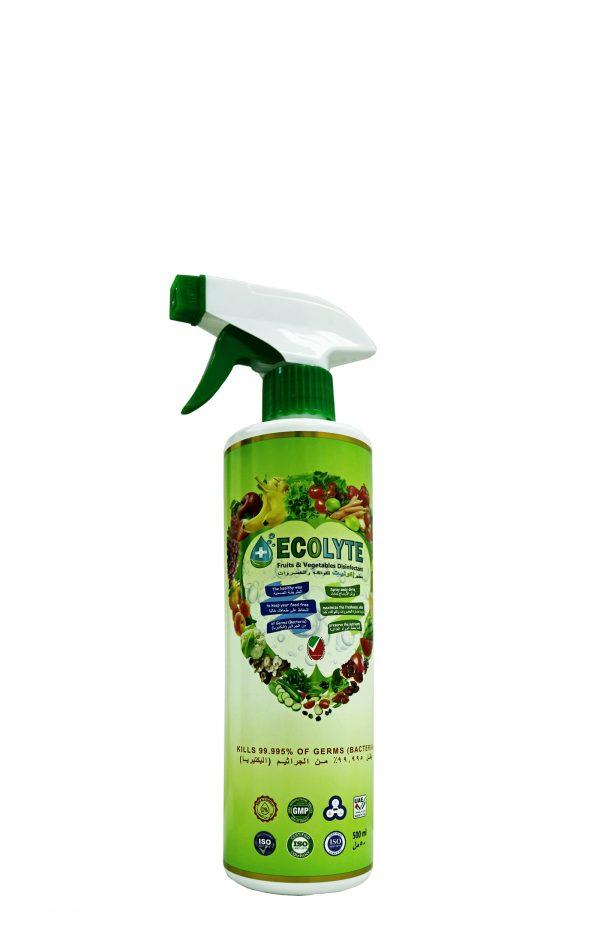 إيكوليت - تطهير الفواكه والخضروات 500 مل