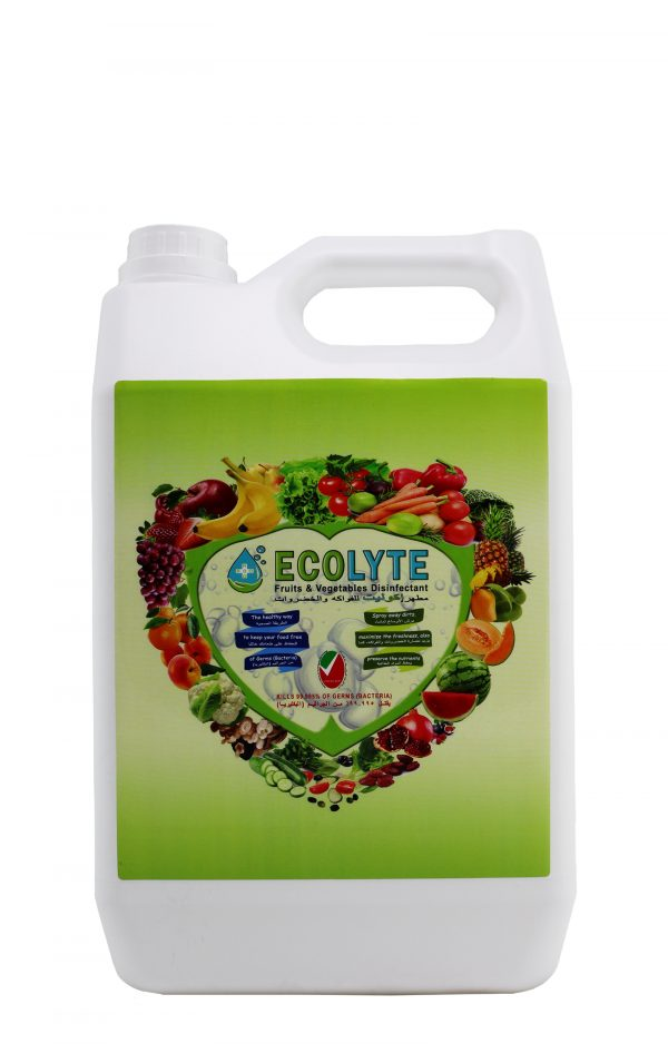 EECOLYTE DISINFECTANT SOLUTION 5 LITRE