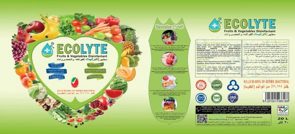 Ecolyte Fruits and Vegetable Disinfectant