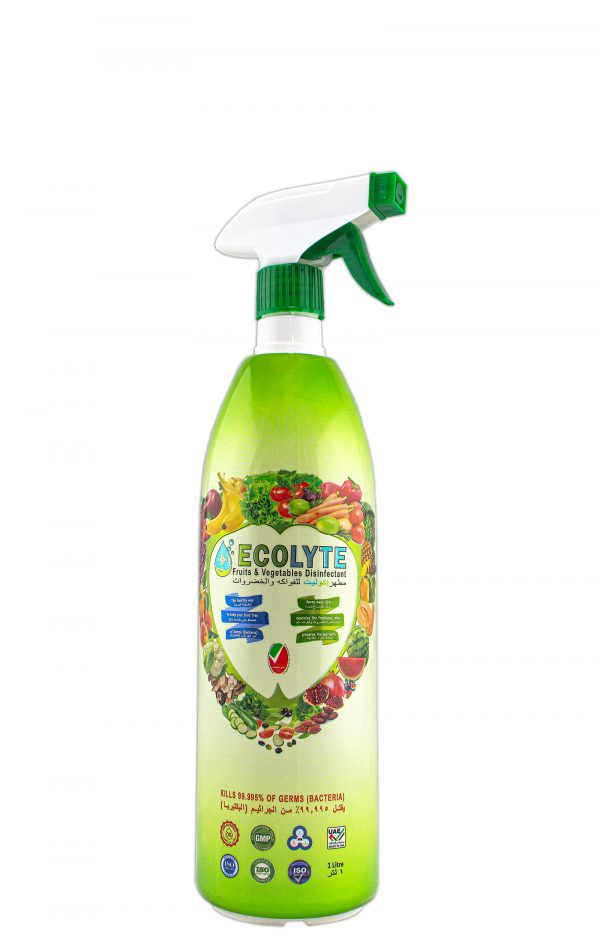 ECOLYTE BEST SANITIZING FRUITS AND VEGETABLES 1 LITRE