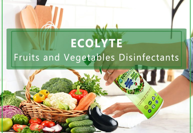 ECOLYTE FRUIT AND VEGETABLE DISINFECTANT