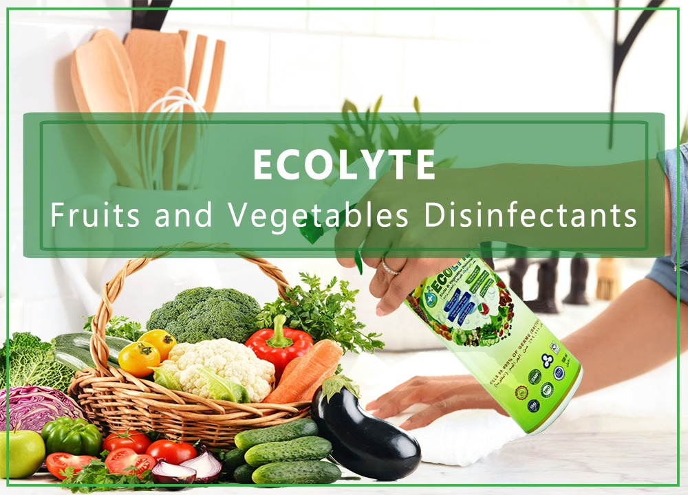 ECOLYTE FRUITS AND VEGETABLES DISINFECTANT