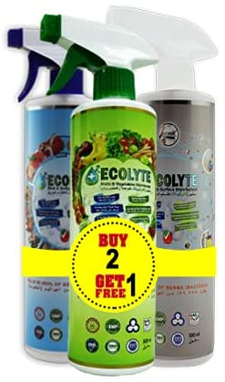 ECOLYTE AL IN ONE DISINFECTANT BUNDLE 500ML 3
