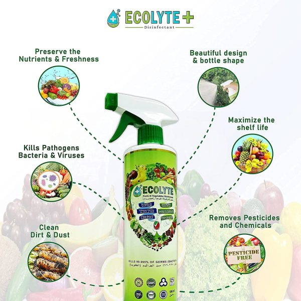 ECOLYTE AL IN ONE DISINFECTANT BUNDLE 500ML 4