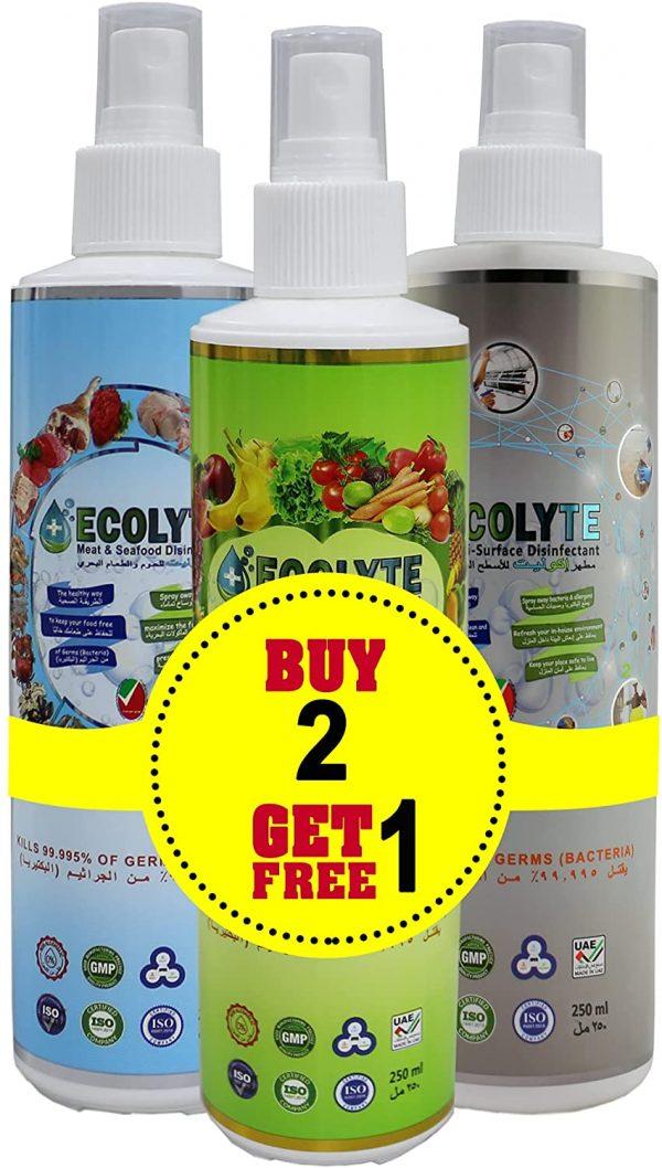 Ecolyte bundle offer 250ml 2
